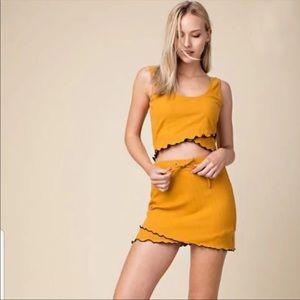 Honey Bee skirt set